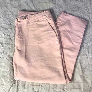 Pink 3/4 capri pants Anne Klein